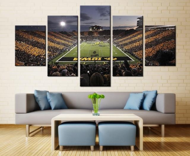 Iowa Hawkeyes Football Sport Team Wall Art Painting Print on ...
