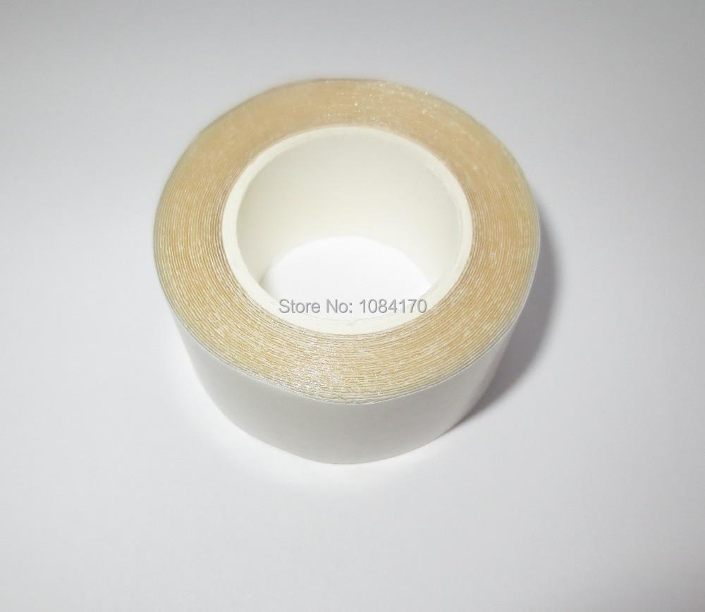 1 ролл Ақ Қытайда жасалған 2 см * 300см екі жақты кружевой шашты желім таспасы