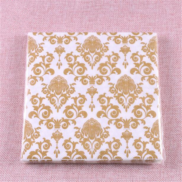 Vintage Paper Napkins
