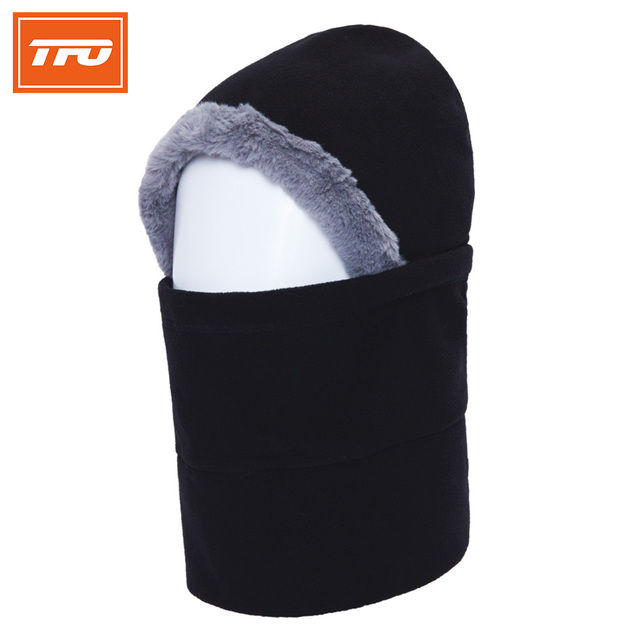 9fa26a1847c3f TFO outdoor caps men women fleece thermal winter warming hats sport  protected face mask ski gorros riding snowboard Neck Helmet