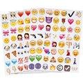 4 Pcs New Bonito Encantador 48 Die Cut Emoji Sorriso Adesivo Para Notebook Mensagem Alta Vinil Engraçado Criativo Frete Grátis