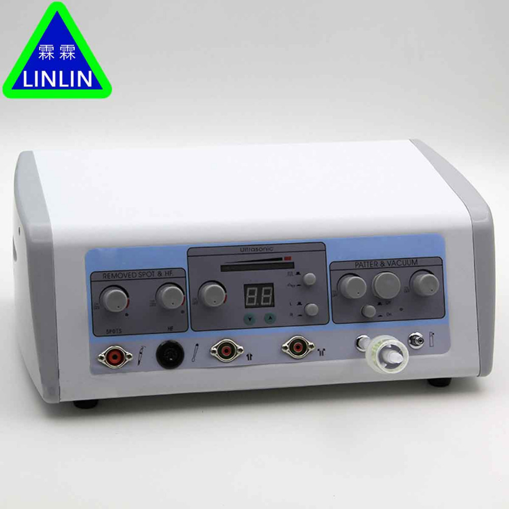 LINLIN Ultrasons introduction de instrument d'électrothérapie pour éliminer les rides rides de la peau et du sein blanchiment et rem
