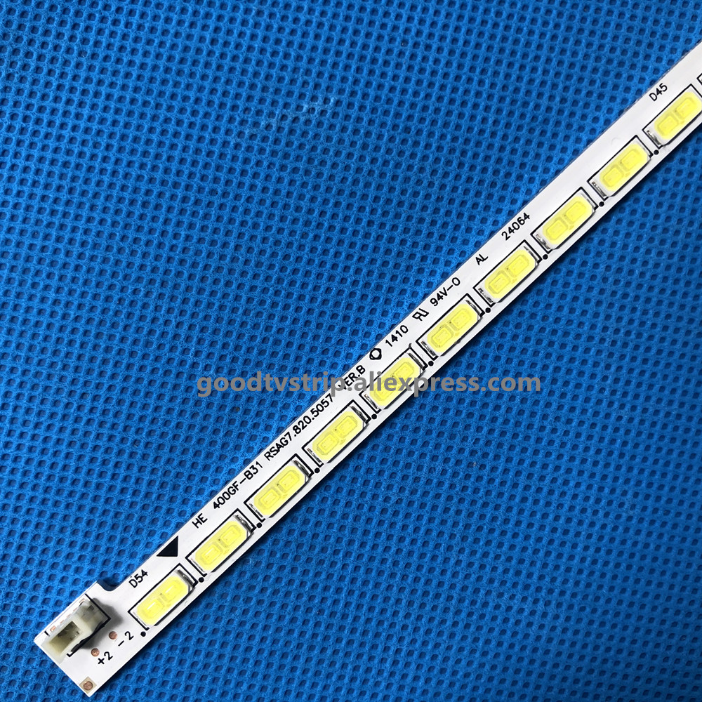 New 54LEDs 500mm LED Backlight Strip For LED40K360JD RSAG7.820.5057 HE400GF-B31 RSAG7.820.5062 SSY-1125050