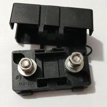 Черный 20A 30A 40A 50A 80A 100A 150A 200A раздвоенный Тип предохранителя и Авто держатель предохранителя коробка для автомобиля Лодка Грузовик с крышкой