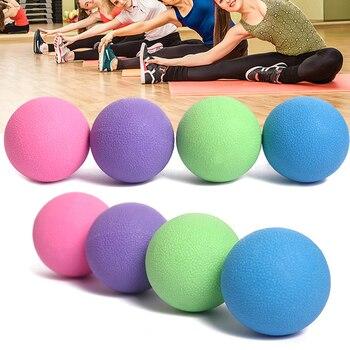 Bola de Lacrosse movilidad miofascial de puntos gatillo, liberación de masaje de cuerpo pelotas de Fitness W20
