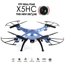 SYMA X5HC RC Airplanes 4-CH 2.4GHz 6-Axis RC Quadcopter With 2MP HD Camera AUTO Hovering RC Drone SYMA X5SC Upgraded Version