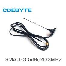 TX433 XP 100 433 800mhz の無線 lan アンテナ長距離高利得 3.5dBi SMA J 50 オーム吸盤アンテナ wifi 受容体