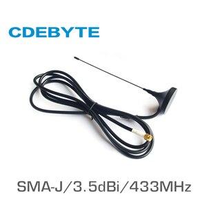Image 1 - TX433 XP 100 433 MHz wifi antena dalekiego zasięgu o wysokim zysku 3.5dBi SMA J 50 Ohm Sucker antena wifi receptora