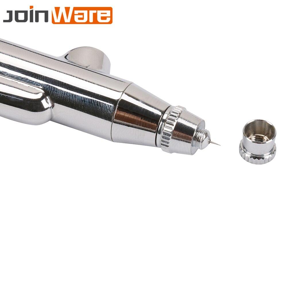 Image 4 - Airbrush Gun Set 0.2 0.3 0.5mm Nozzle Airbrush Pen Kit Dual Action Gravity Feed Spray Gun for Painting Cake Decorating Nail Art-in Spray Guns from Tools on