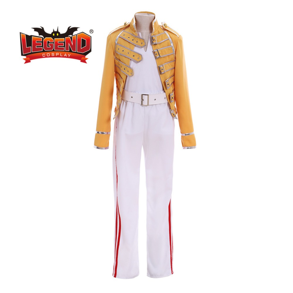freddie mercury costume queen lead vocals freddie mercury outfit kids boys size aliexpress us 85 0 freddie mercury costume queen lead vocals freddie mercury outfit kids boys size aliexpress