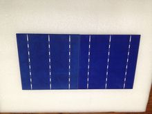 Promotion!!! 50pcs 17.6% 4.38W 156mm 3BB polycrystalline Solar cell for DIY solar panel