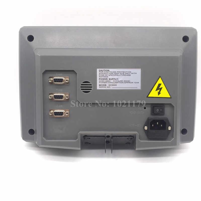 GCS900-3DB HXX DRO 3 Eixos Display Digital Máquina de Perfuração de Moagem Torno Chato CNC ThreeAxis Kit Dro leitura Digital