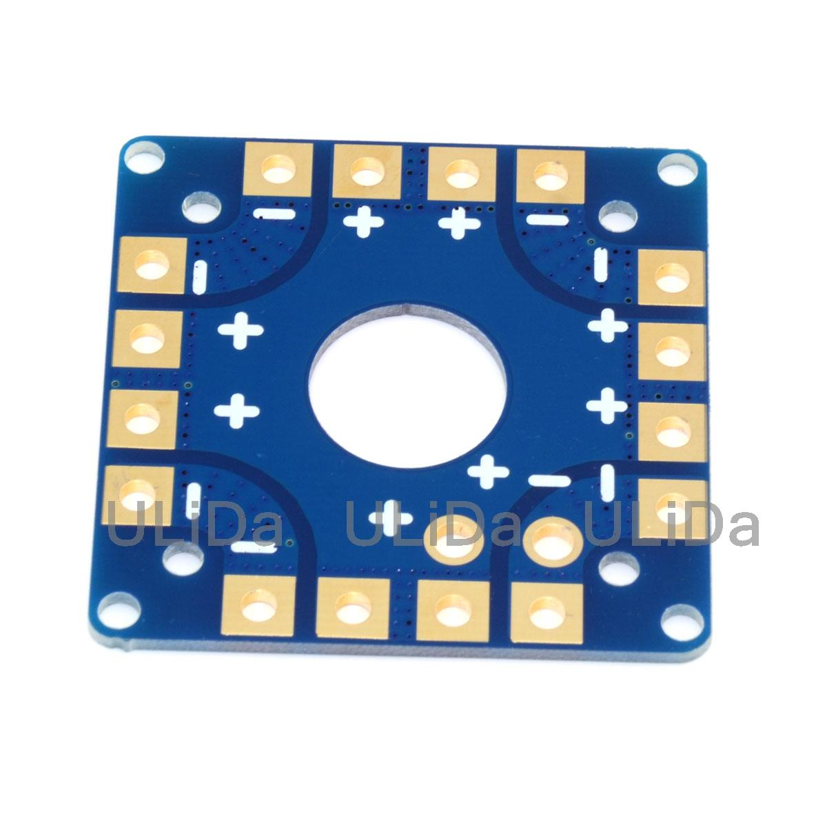 ESC Power Distribution Board for APM/CC3D/MWC multiwii/KK MultiCopter Quadcopter t plug power distribution board 4 axle switch panel for rc quadcopter apm px4