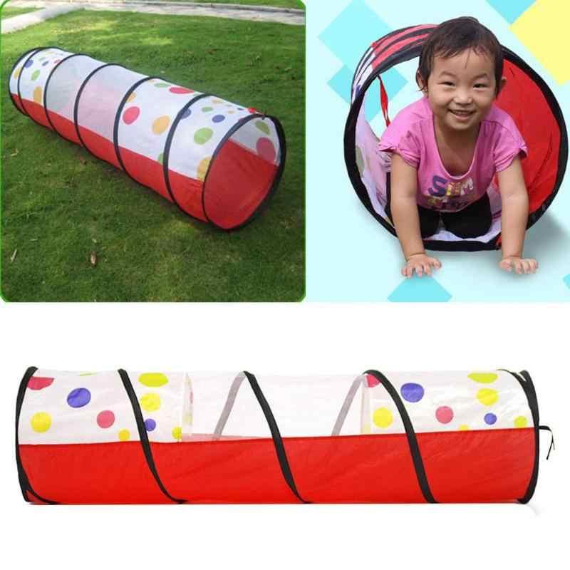 נייד בריכה-צינור-אוהל מוקפץ לשחק אוהל מנהרת ילדים ילדים לשחק בית ילדים זחילה מנהרת ילדים חיצוני ופנימי צעצוע