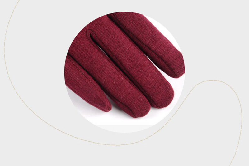 Comfortable and Warm Non Inverted Touch Screen Gloves for Women with Sensitive Touch Screen Function without Hand Exposing to Cold 15