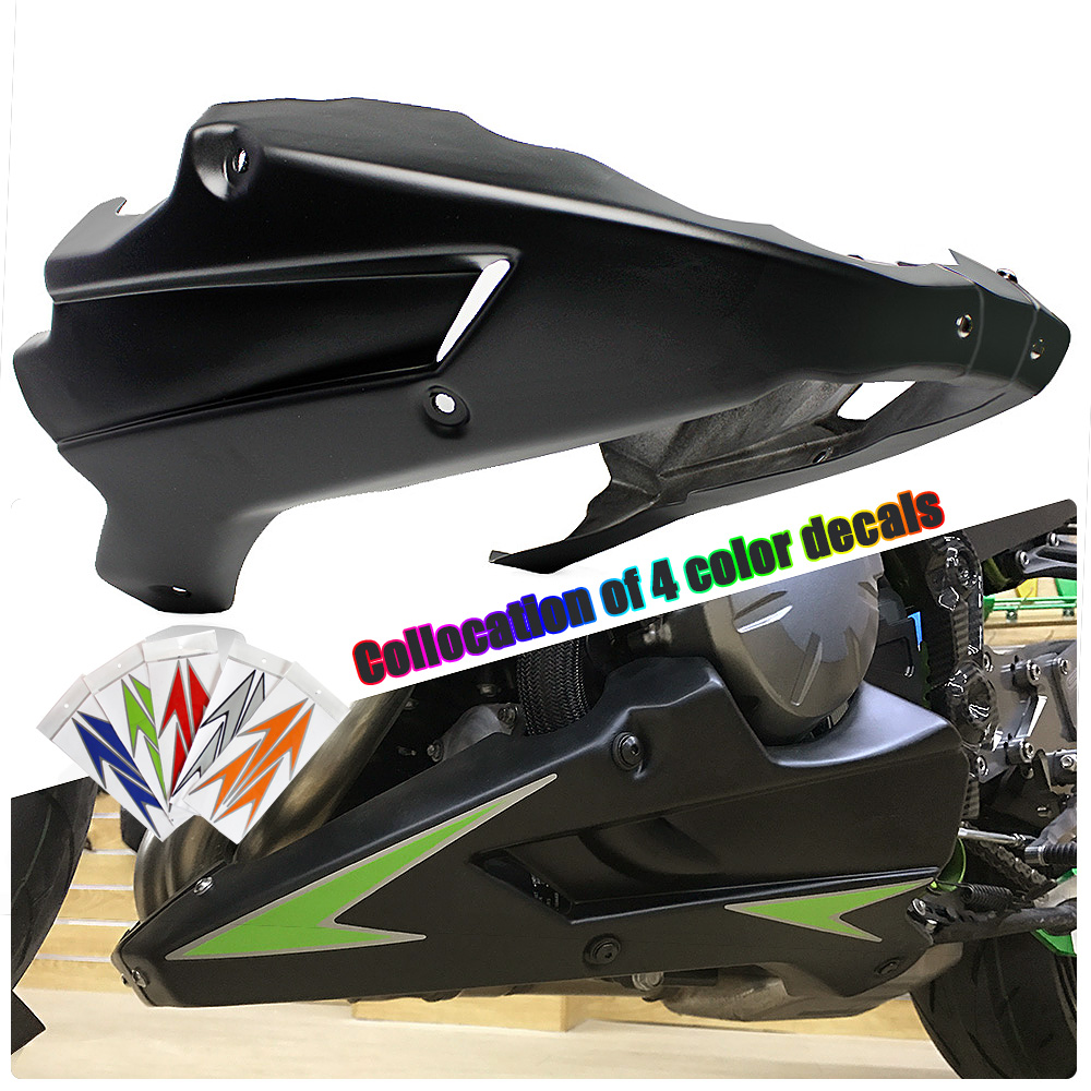 Motorcycle Bellypan Belly Pan Engine Spoiler Lower Fairing Cowling Cover ABS plastic Body Frame for Kawasaki Z900 2017 Z 900