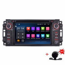 "6.2 ""1024*600 4 ядра стерео для Jeep Commander Grand Cherokee Android 6.0.1 Car GPS навигации Радио Bluetooth"