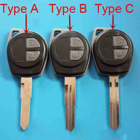 Uncut Remote Key Shell Replacement For Suzuki Grand Vitara Swift