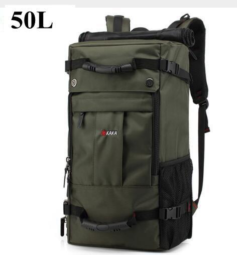 40L 50L voyage sac à dos hommes militaire Oxford voyage sac à dos Multi fonction 17 pouces ordinateur portable Camouflage voyage sac à dos pour hommes - 5