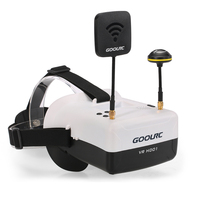 GoolRC VR HD01 5 8G 40CH Duo Antennas FPV Goggles Video Glasses For QAV250 H501S Inductrix