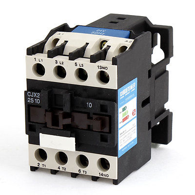 цена на 24V Rated Coil Voltage 3 Phase 1NO CJX2-25 Alternating Current AC Contactor