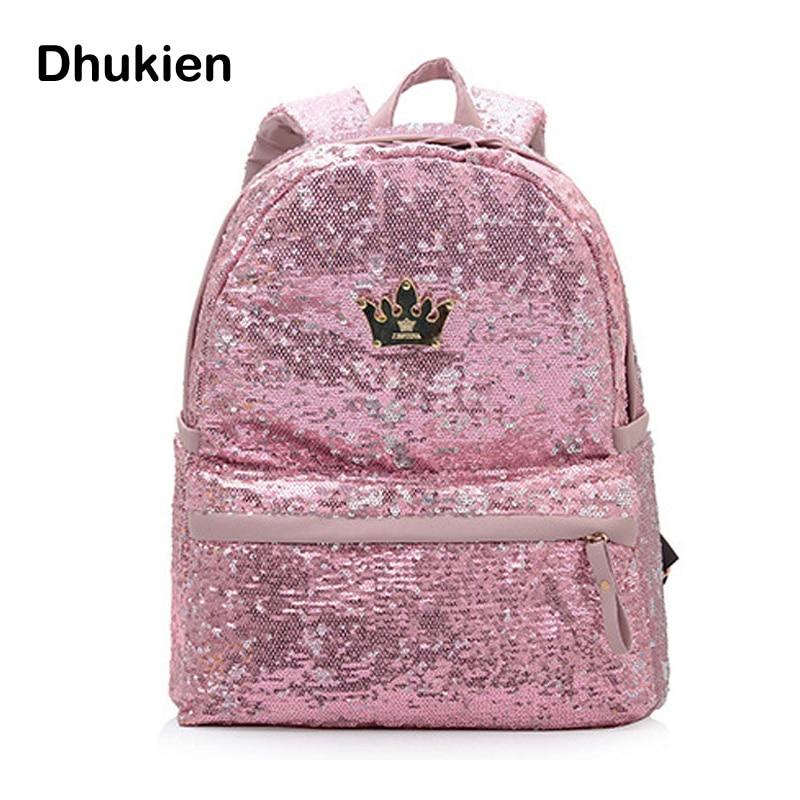 Aliexpress.com : Buy High Quality Sequin Backpacks Women Pu ...