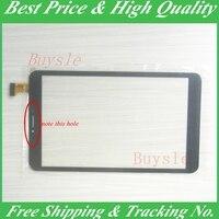 Bilgisayar ve Ofis'ten Tablet LCD'ler ve Paneller'de Siyah Yeni 8 ''inç dokunmatik panel sayısallaştırıcı sensörü tablet pc dokunmatik ekran sayısallaştırma paneli Tamir YJ350FPC V0 Ücretsiz kargo