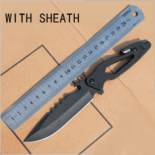 Pocket font b Knife b font SR Multi Fixed 5CR13 Blade font b knife b font