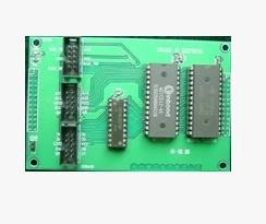 Free Shipping! EDA / SOPC / FPGA development board electronic design contest expansion board SRAM / EPROM module цены онлайн