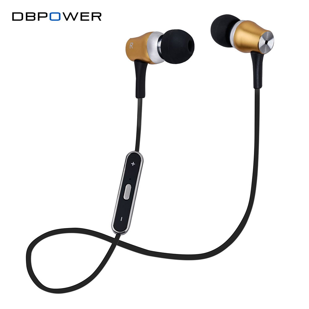 dbpower wireless earbud stereo sports bluetooth earphone noise canceling earphones and headphone. Black Bedroom Furniture Sets. Home Design Ideas