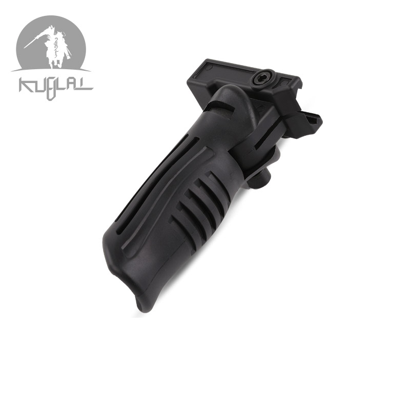 Outdoor Sports Game Model Lol Nylon Tactical Grip M4 Front Grip Duckbill AK Grip Folding Grip MP7 Water Bullet Gun Accessories(China)