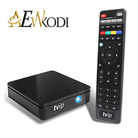 5 PCS Android TV Box VCPMO 410 412 Boîte Amlogic Quad Core 4 GB Android/Linux Double OS Smart TV Box Soutien H.265 Airplay DLNA 250 254