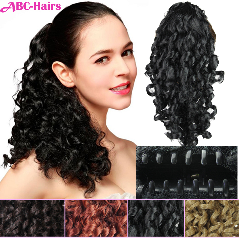 """synthetic hair ponytail 19""""165g"""