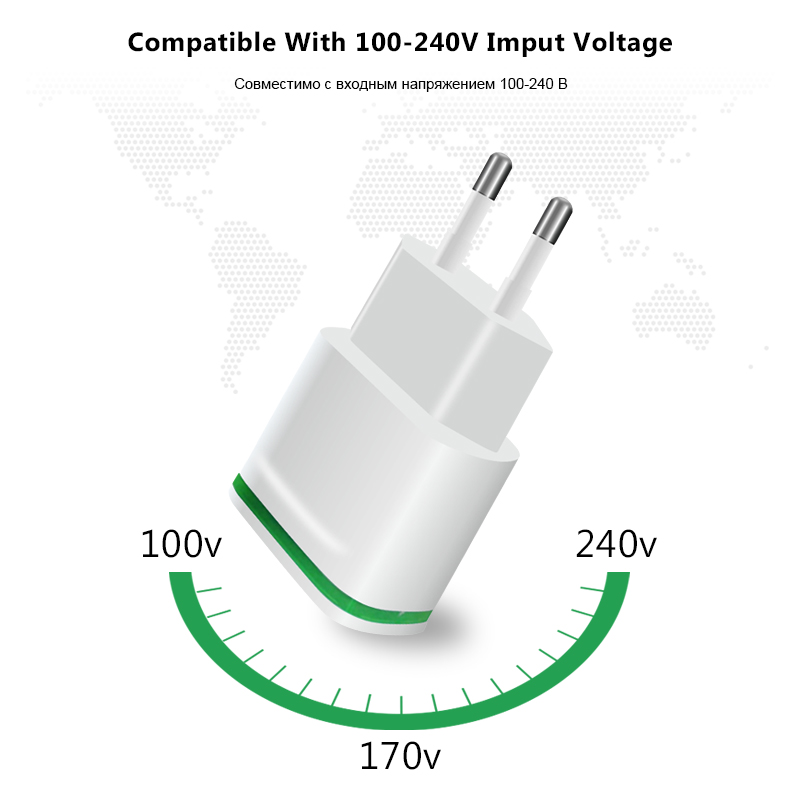 Esvne 2 usb charger 5v 21a eu plug usb adapter wall mobile phone esvne 2 usb charger 5v 21a eu plug usb adapter wall mobile phone charger for iphone 5 6 7 ipad tablet samsung xiaomi charging in mobile phone chargers ccuart Choice Image