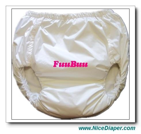 Free Shipping FUUBUU2044-1PCS-L PUL Adult Diaper/ Incontinence Pants /Adult Baby ABDL