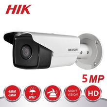 HIKVISION International Version DS-2CE16H0T-IT3F Turbo HD 5MP IR Bullet Camera Switchable TVI/AHD/CVI/CVB IP67 Waterproof цена 2017