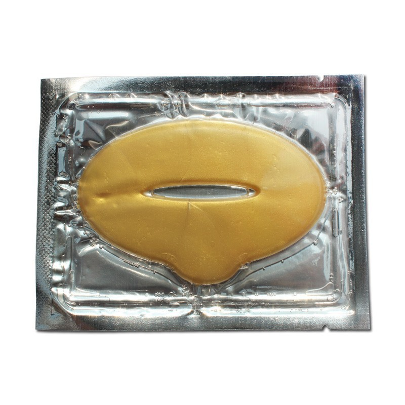 10pcs Women Lip Masks Gold Sexy Crystal Lip Membrane