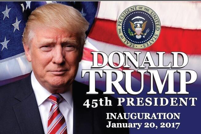50 PRESIDENT TRUMP INAUGURATION FLAG FLAGS MAKE AMERICA GREAT AGAIN DONALD RED