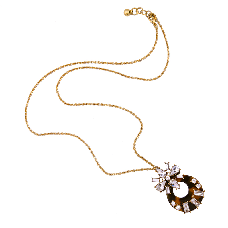 KISS ME Brand Necklace for Women New Design Long Sweater Chain Pendant Necklace Fashion Jewelry