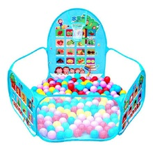 Portable Baby Playpen Children Outdoor Indoor Ball Pool Play Tent Kids Safe Foldable Playpens for Kids Gifts