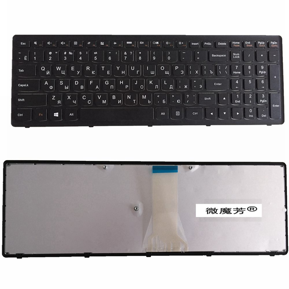 Russia RU Keyboard FOR LENOVO G500C G500S G500H S500 S510P S500C G505s G510S  S510p Z510 BLACK(NOT FIT G500)