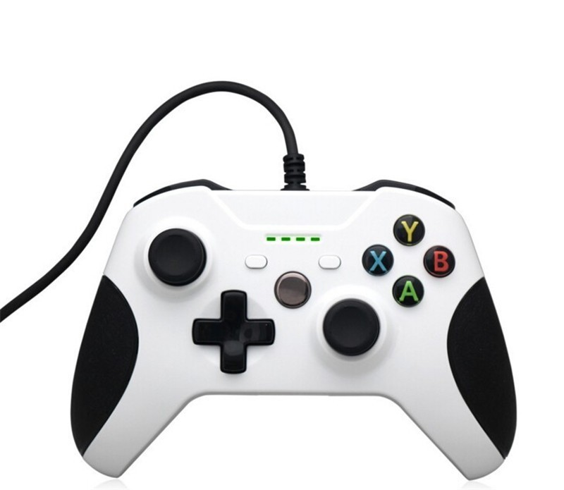 Hot Sale USB Wired Controller For Xbox One S Video Game Mando For Microsoft Xbox One Slim Controle Jogo For Windows PC Gamepad