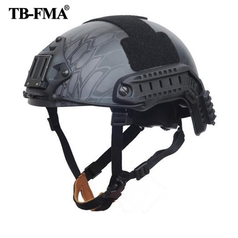 TB-FMA Best Sports Helmets Tactical Ballistic Helmet New TYPHON for Hunting Paintball Airsoft Skirmish Protective Free Shipping 2015 new kryptek typhon pilot fast helmet airsoft mh adjustable abs helmet ph0601 typhon