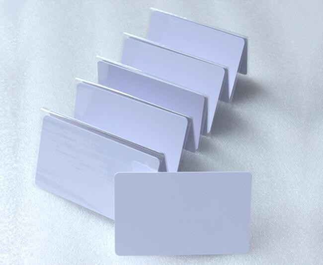 NFC Card RFID Smart Tag 512bytes NFC215 Chip White Card ISO14443A  For All NFC Enabled Devices ,min:5pcs