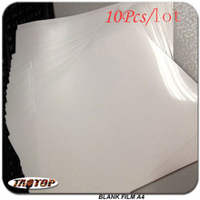 10pcs/lot Hydrographic A4 Size Free Shipping Blank Film Water Transfer Printing Film For Inkjet Printer Decorative Material