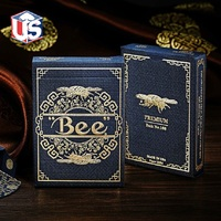 Royal Bee Premium Back No 168 Playing Cards Limited Edition Rare Deck Magic Cards Magia Poker