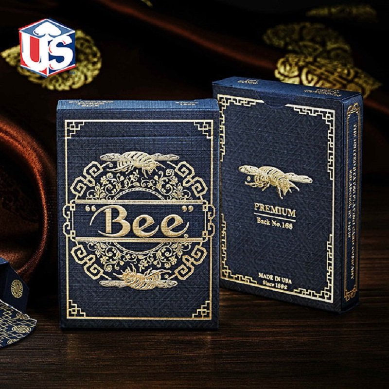 Royal Bee Premium Back No.168 Playing Cards Limited Edition Rare Deck Magic Cards Magia Poker Magic Tricks Props for Magician