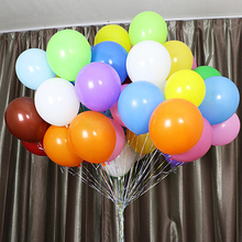 50pcs 10/12inch Matt Candy Latex Balloons Wedding Party Garland for Kids Baby Birthday Shower Decoration Decor