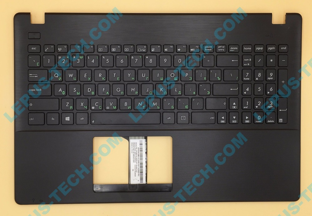 RU Russian Keyboard for ASUS X551 X551CA X551MA X551MAV keyboard with palmrest top case black color 90NB0341-R30190 willettt 460 keyboard display black color
