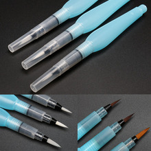 3 Pcs Painting Pen Office Stationery 1 Set Ink Pens Water Brushes Art Supplies Refillable Calligraphy Drawing